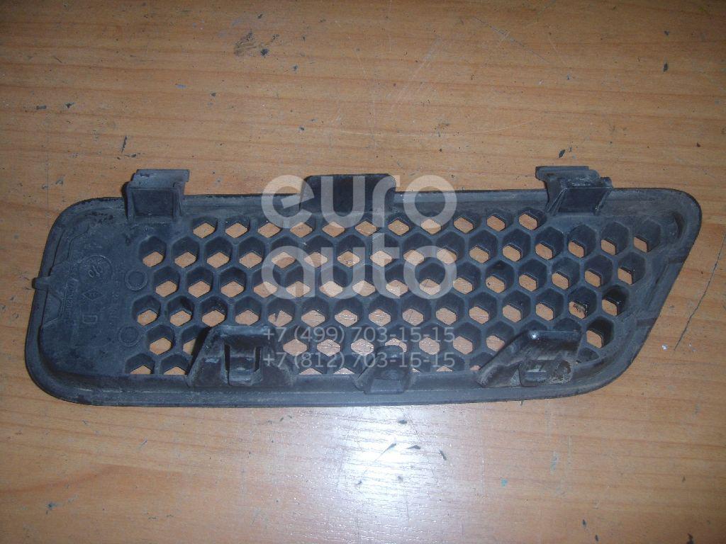 Решетка радиатора правая для Renault Scenic 1999-2003 - Фото №1