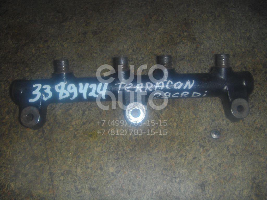 Рейка топливная (рампа) для Hyundai,Kia Terracan 2001-2007;Carnival 1999-2005 - Фото №1