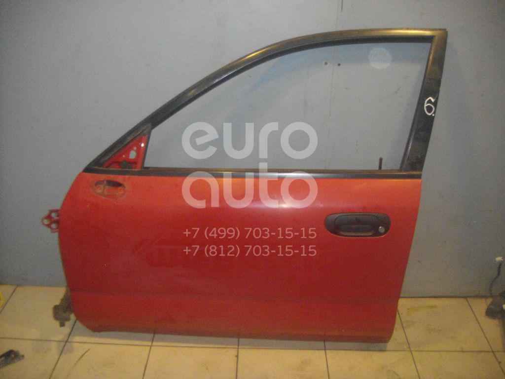 Дверь передняя левая для Mitsubishi Carisma (DA) 1995-2000 - Фото №1