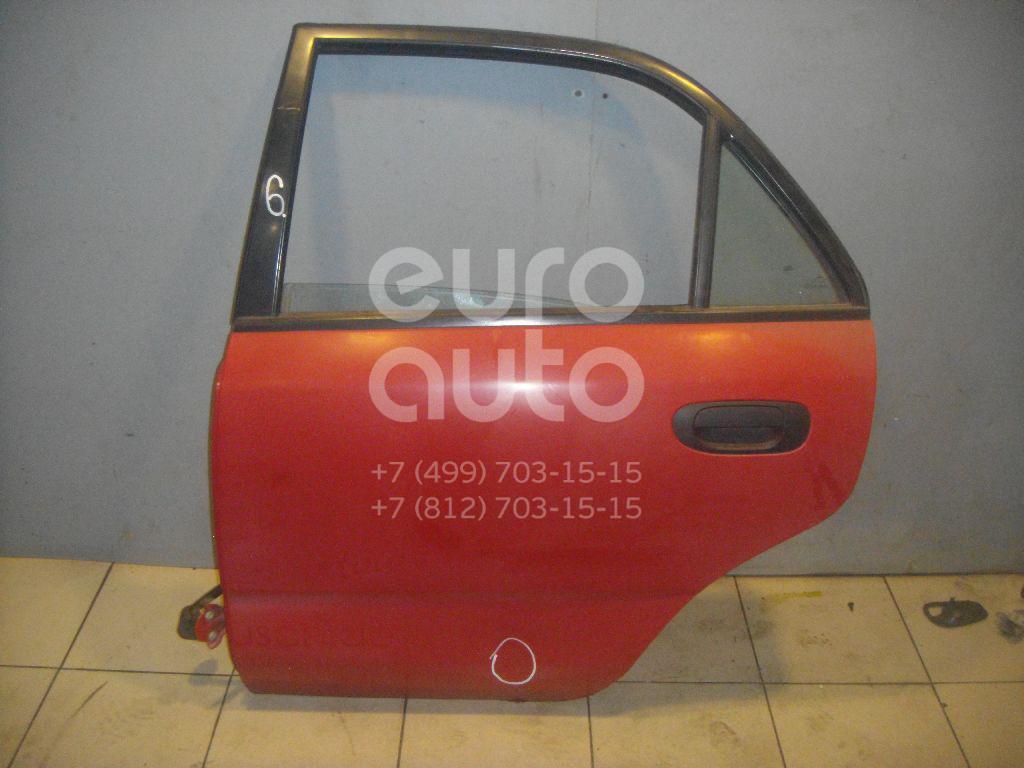 Дверь задняя левая для Mitsubishi Carisma (DA) 1995-2000 - Фото №1