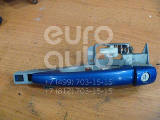 Ручка двери передней наружная левая для Peugeot 407 2004-2010 - Фото №1
