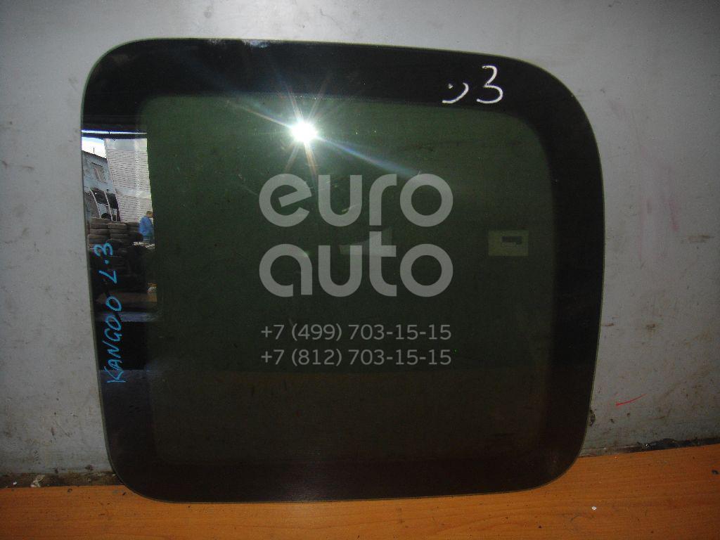 Стекло кузовное глухое левое для Renault Kangoo 1997-2003 - Фото №1