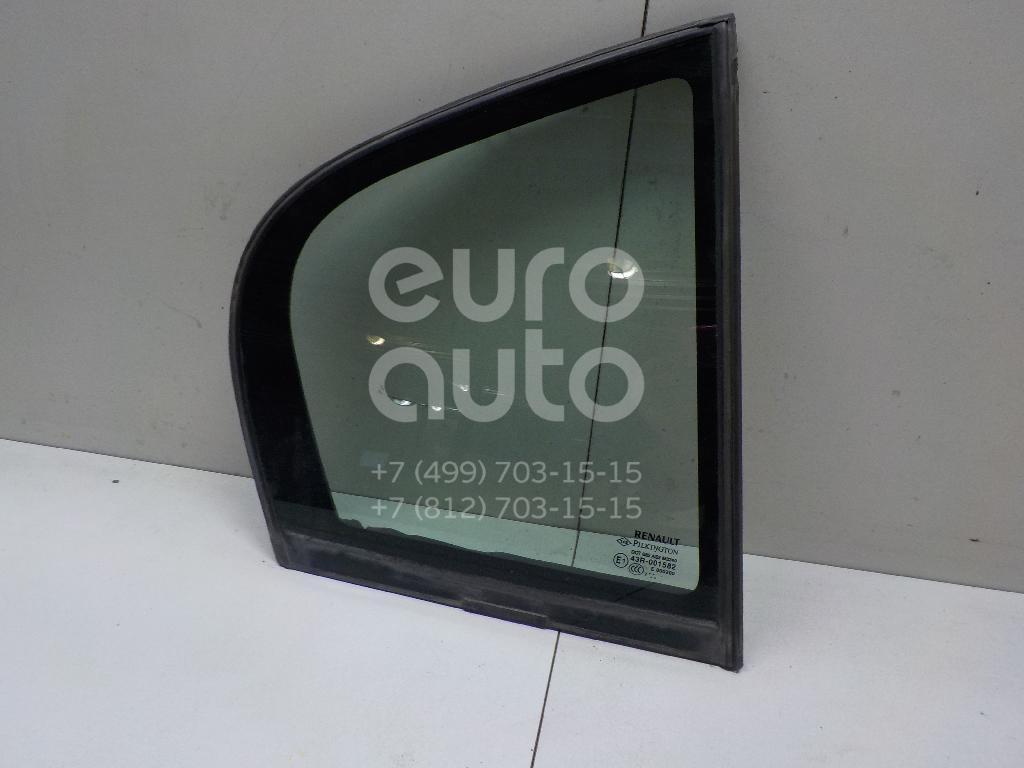 Купить Стекло двери задней правой (форточка) Renault Laguna III 2008-2015; (822200001R)