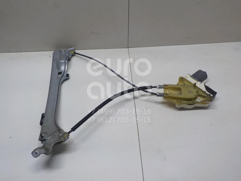 Купить Стеклоподъемник электр. задний правый Renault Laguna III 2008-2015; (827000001R)