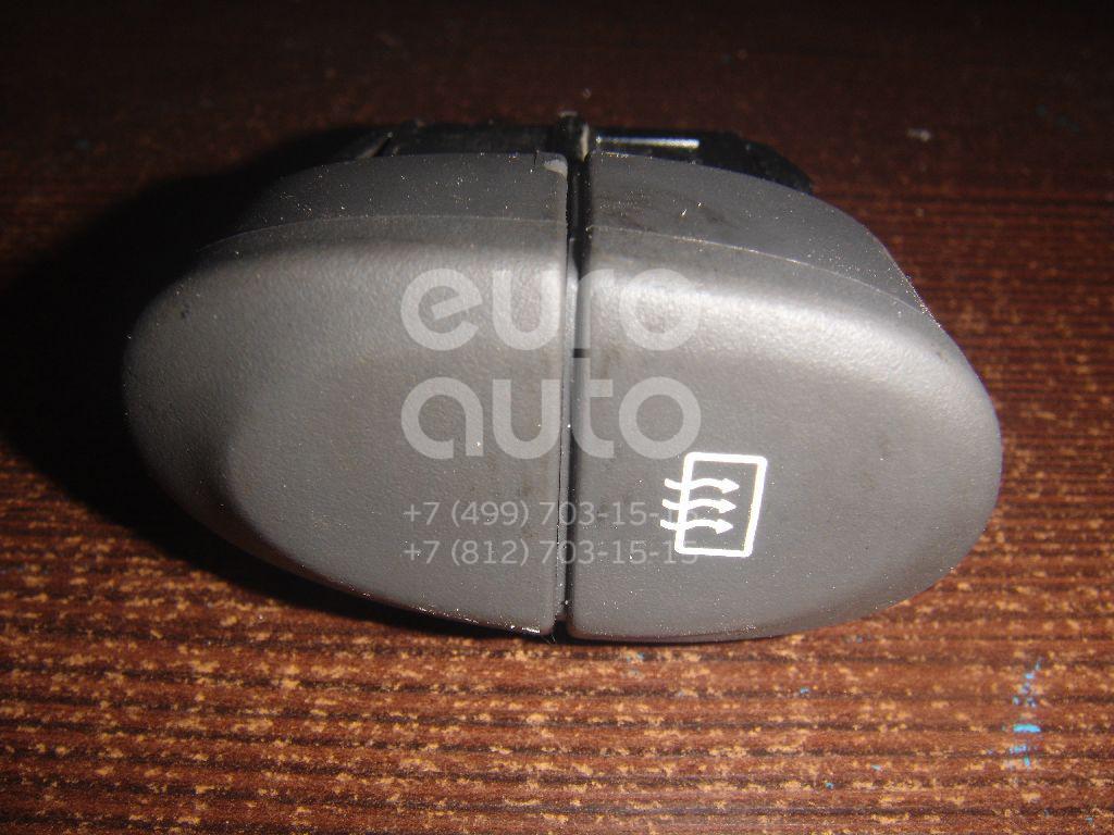 Кнопка обогрева заднего стекла для Renault Scenic 1999-2002 - Фото №1