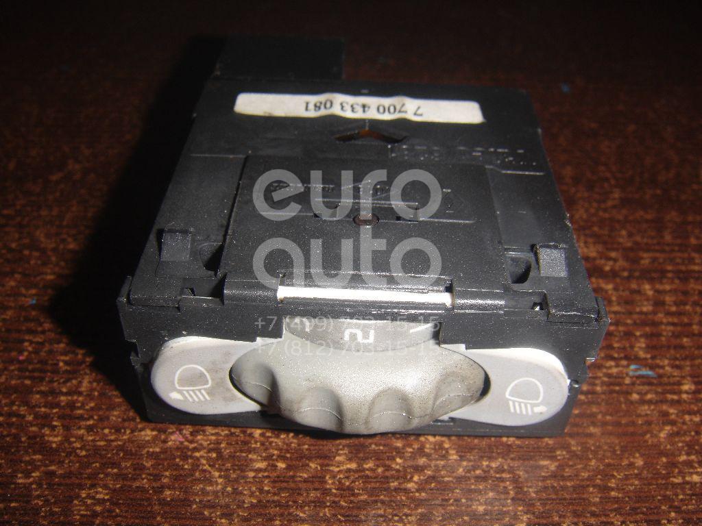 Кнопка корректора фар для Renault Scenic 1999-2003;Scenic 1996-1999 - Фото №1