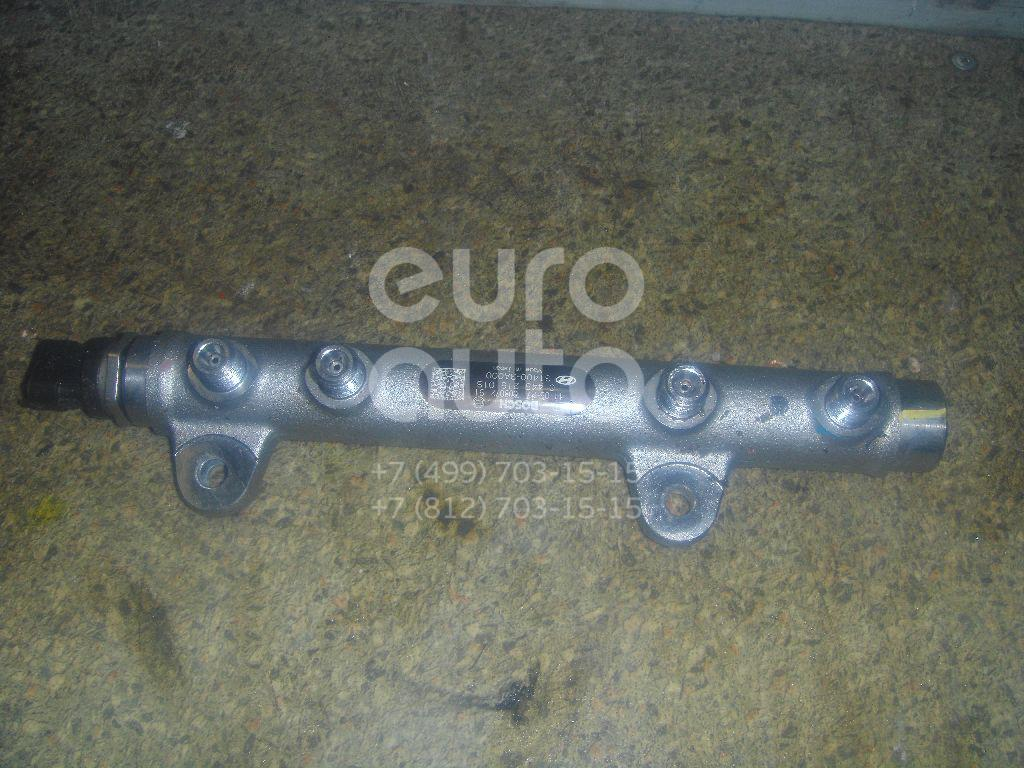 Рейка топливная (рампа) для Hyundai ix55 2007-2013 - Фото №1