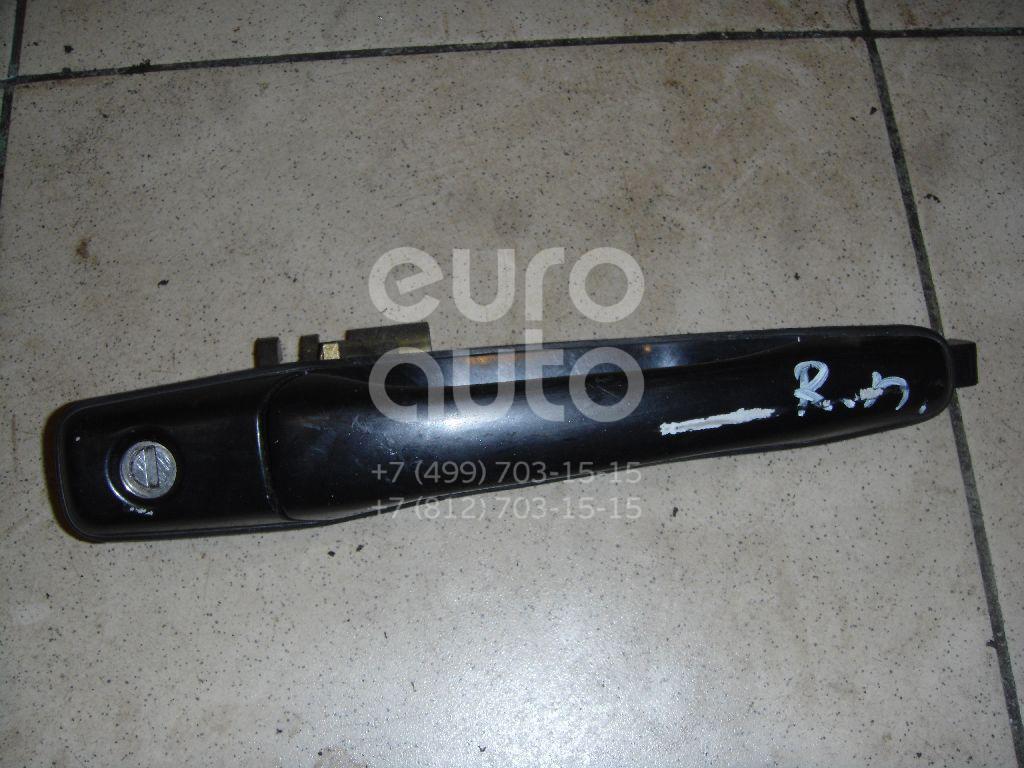 Ручка двери передней наружная правая для Mitsubishi Outlander (CU) 2001-2008;Grandis (NA#) 2004-2010;Lancer (CS/Classic) 2003-2008;Lancer Cedia (CS) 2000-2003 - Фото №1