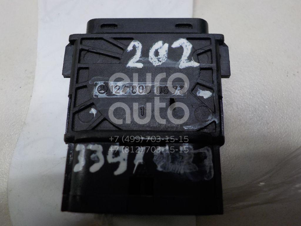 Кнопка корректора фар для Mercedes Benz W124 1984-1993;R129 SL 1989-2001;W140 1991-1999;W201 1982-1993;W202 1993-2000 - Фото №1