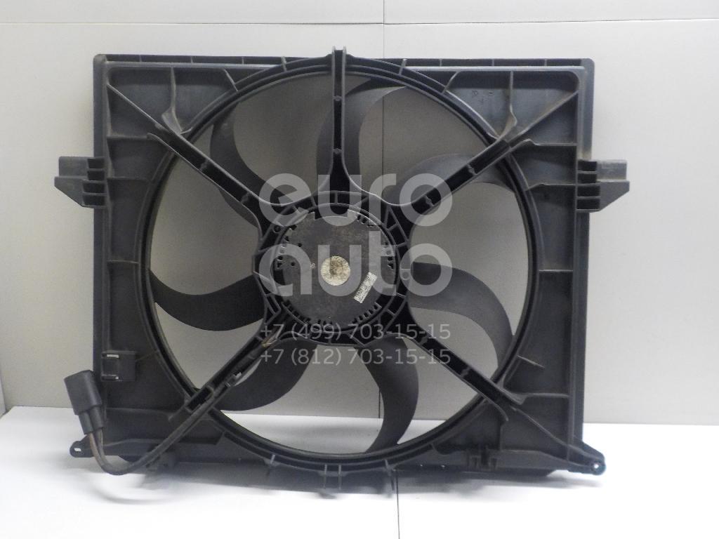 Купить Вентилятор радиатора Mercedes Benz W164 M-Klasse (ML) 2005-2011; (1645000193)