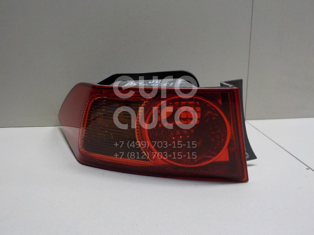 Фонарь задний наружный левый для Honda Accord VII 2003-2007 - Фото №1