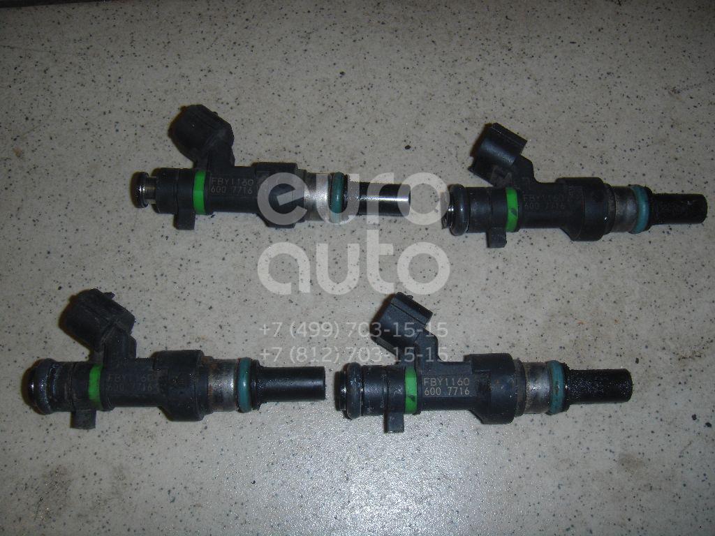 Форсунка инжекторная электрическая для Nissan Note (E11) 2006-2013;Micra (K12E) 2002-2010;Qashqai (J10) 2006-2014;Tiida (C11) 2007-2014;Qashqai+2 (JJ10) 2008-2014 - Фото №1