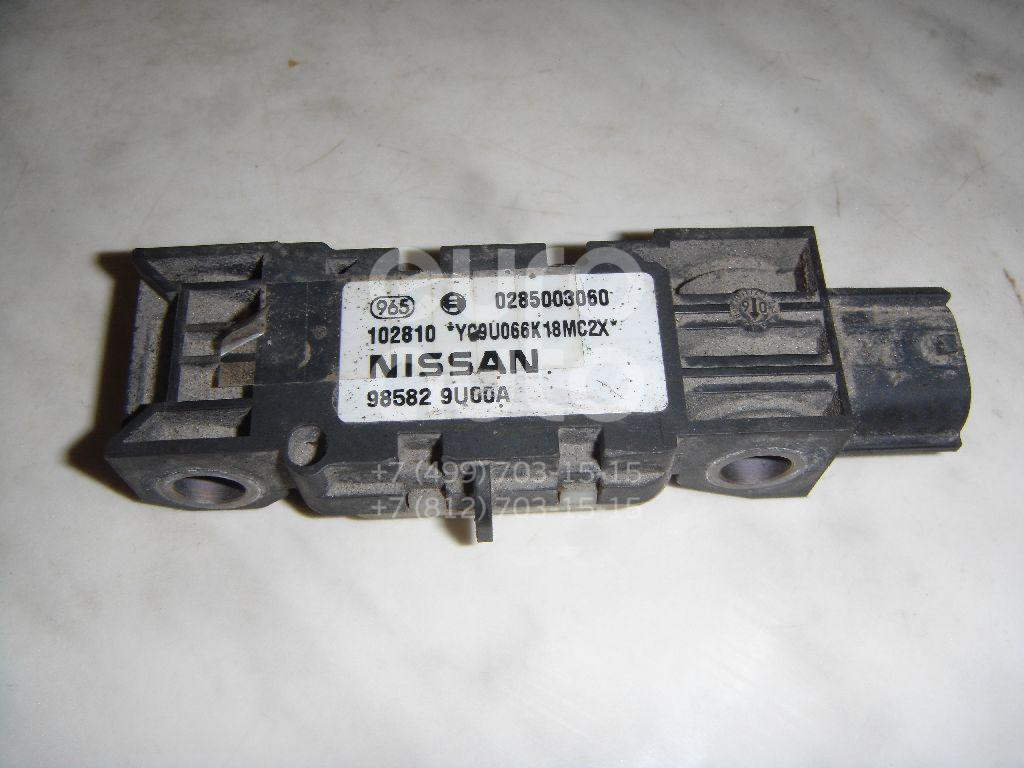 Купить Датчик AIR BAG Nissan Note (E11) 2006-2013; (985829U00A)