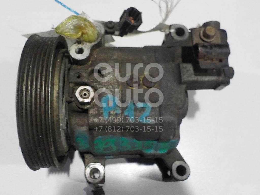 Компрессор системы кондиционирования для Nissan Primera P12E 2002-2007 - Фото №1