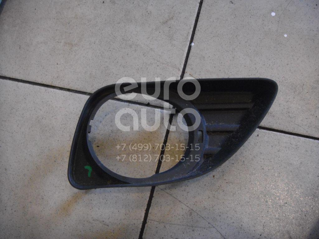 Рамка противотуманной фары левой для Toyota Camry V40 2006-2011 - Фото №1