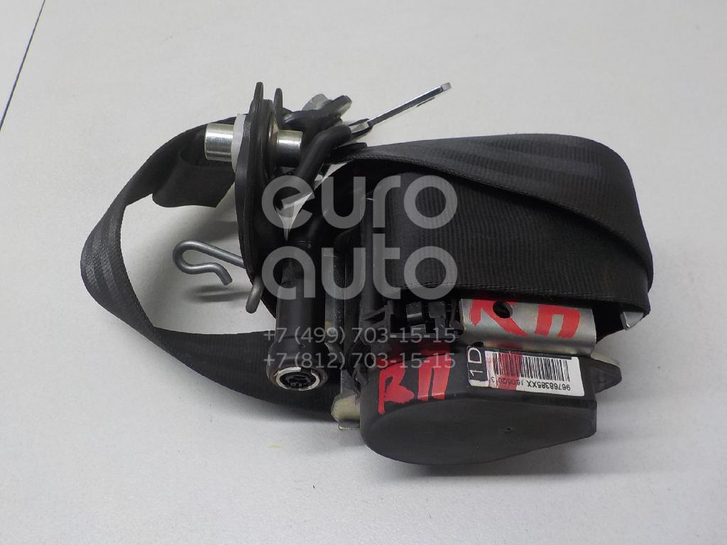 Купить Ремень безопасности с пиропатроном Peugeot 308 I 2007-2015; (8976S2)