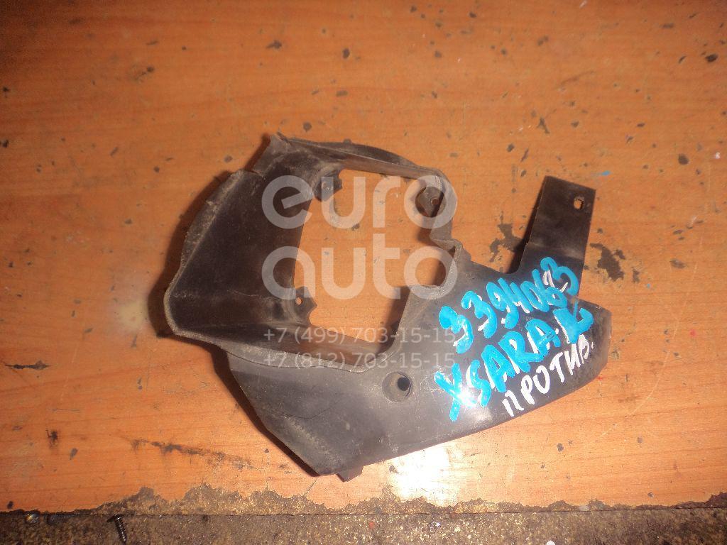 Кронштейн фары противотуманной левой для Citroen Xsara Picasso 1999> - Фото №1