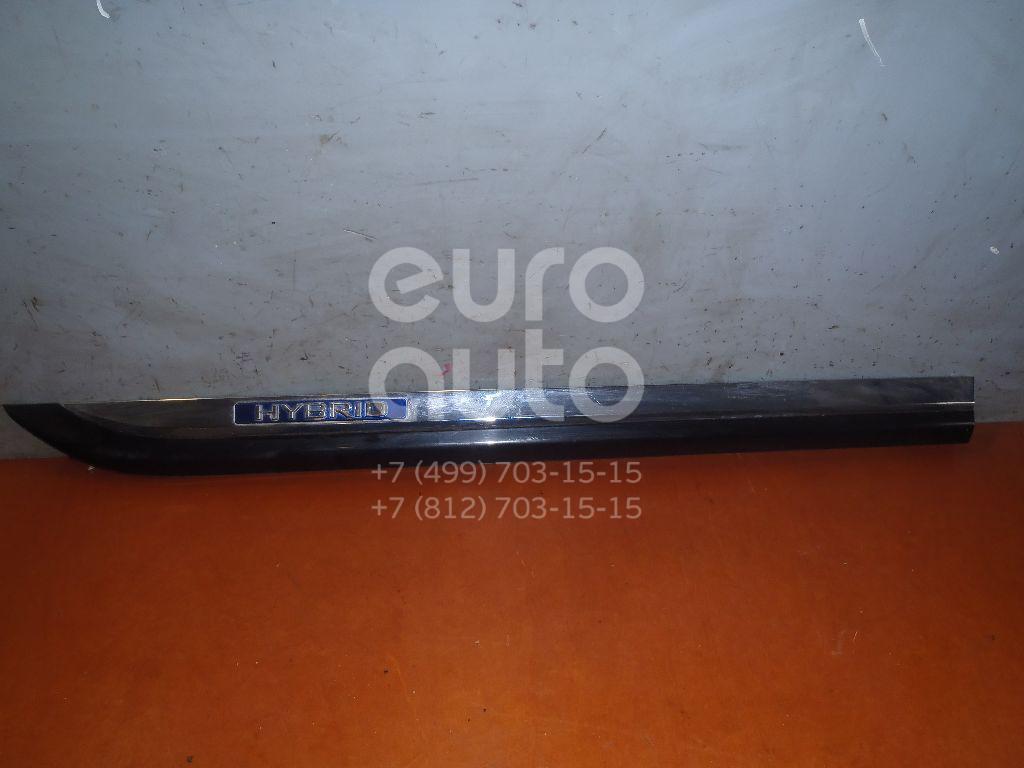 Молдинг задней правой двери для Lexus LS (USF4#) 2006> - Фото №1