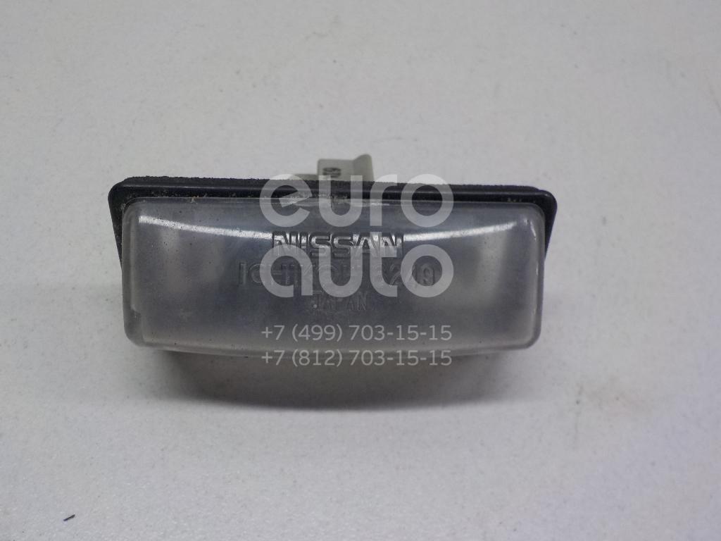 Купить Фонарь подсветки номера Nissan Teana J31 2003-2008; (265109Y00A)
