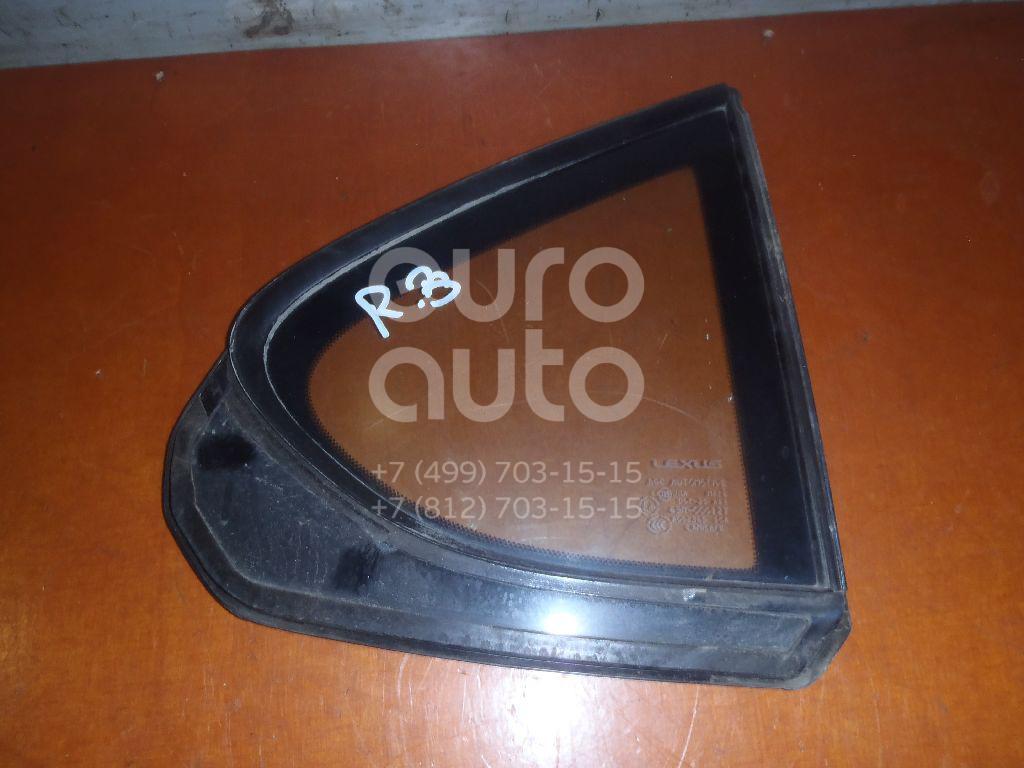 Стекло двери задней правой (форточка) для Lexus LS (USF4#) 2006> - Фото №1