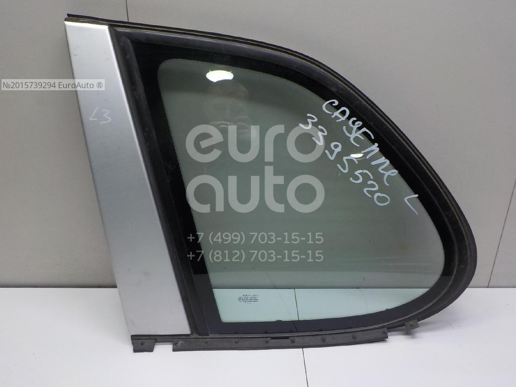 Стекло кузовное глухое левое для Porsche Cayenne 2003-2010 - Фото №1