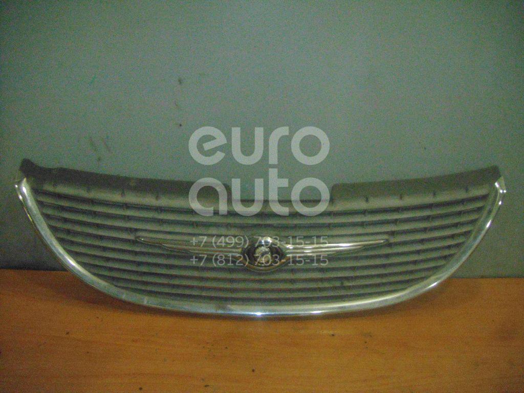 Решетка радиатора для Chrysler Voyager/Caravan (RG) 2001-2008 - Фото №1