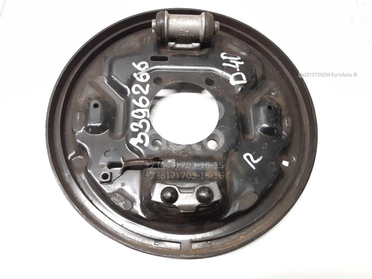 Щит опорный задний правый для Nissan Navara (D40) 2005> - Фото №1