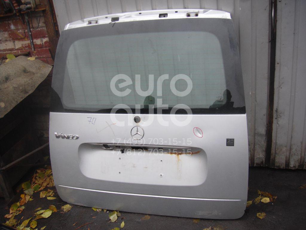 Дверь багажника со стеклом для Mercedes Benz VANEO 2002> - Фото №1