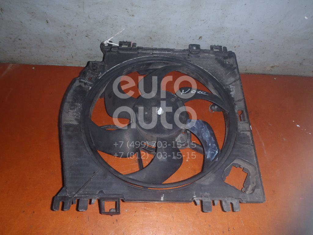 Вентилятор радиатора для Nissan Note (E11) 2006-2013 - Фото №1