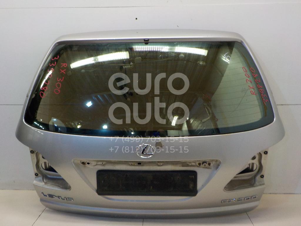 Дверь багажника со стеклом для Lexus RX 300 1998-2003 - Фото №1