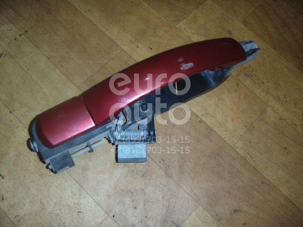 Ручка двери задней наружная левая для Ford Mondeo III 2000-2007 - Фото №1