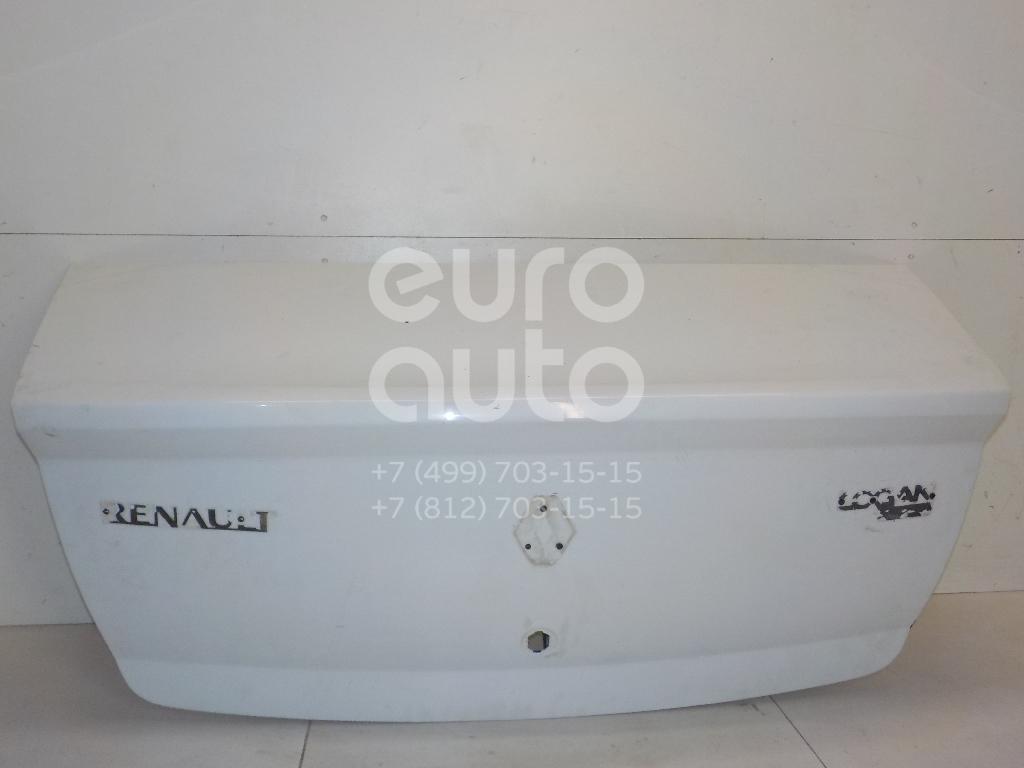 Купить Крышка багажника Renault Logan 2005-2014; (8201040207)