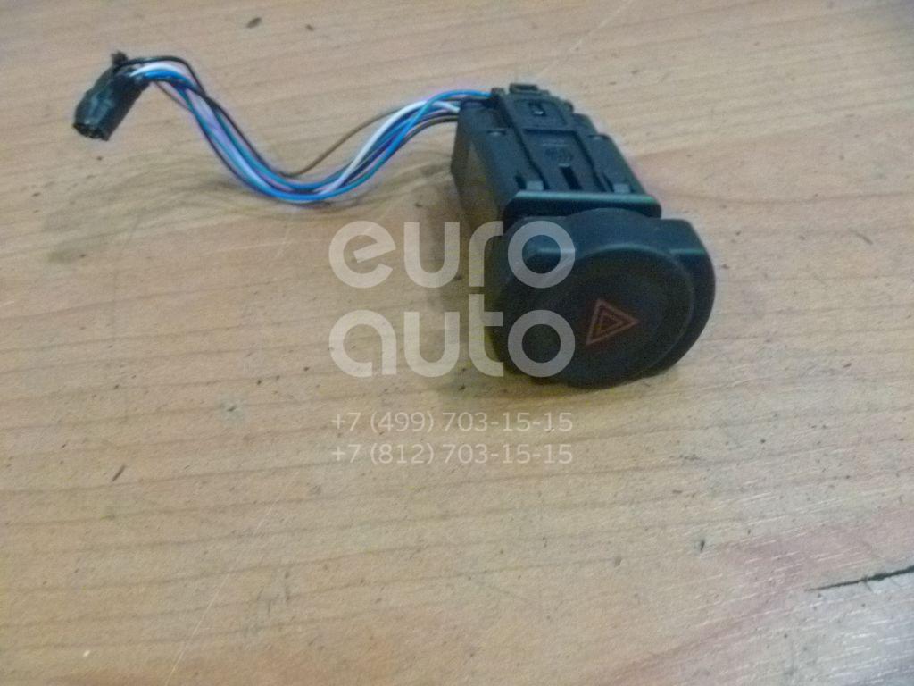 Кнопка аварийной сигнализации для Renault,Nissan Sandero 2009-2014;Logan 2005-2014;Duster 2012>;Almera (G15) 2013> - Фото №1