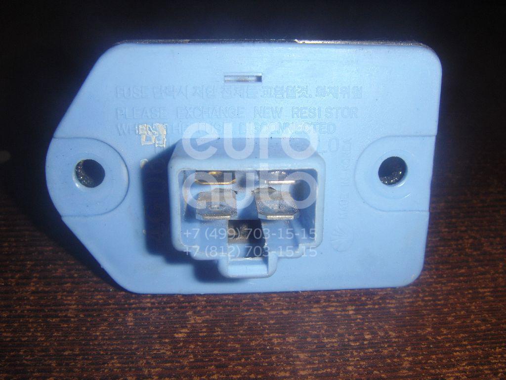 Резистор отопителя для Chevrolet Lacetti 2003-2013;Evanda 2004-2006 - Фото №1