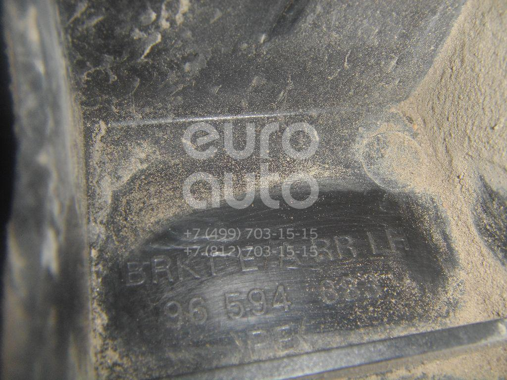 Кронштейн усилителя заднего бампера левый для Chevrolet Rezzo 2003-2010 - Фото №1
