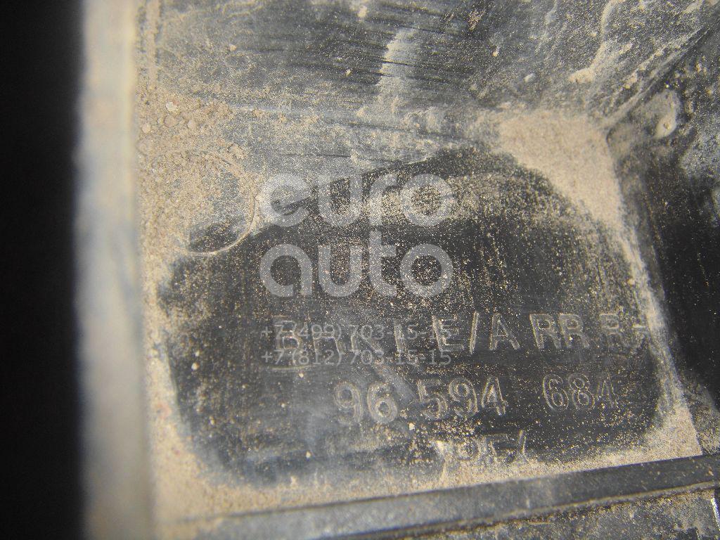 Кронштейн усилителя заднего бампера правый для Chevrolet Rezzo 2005-2010 - Фото №1