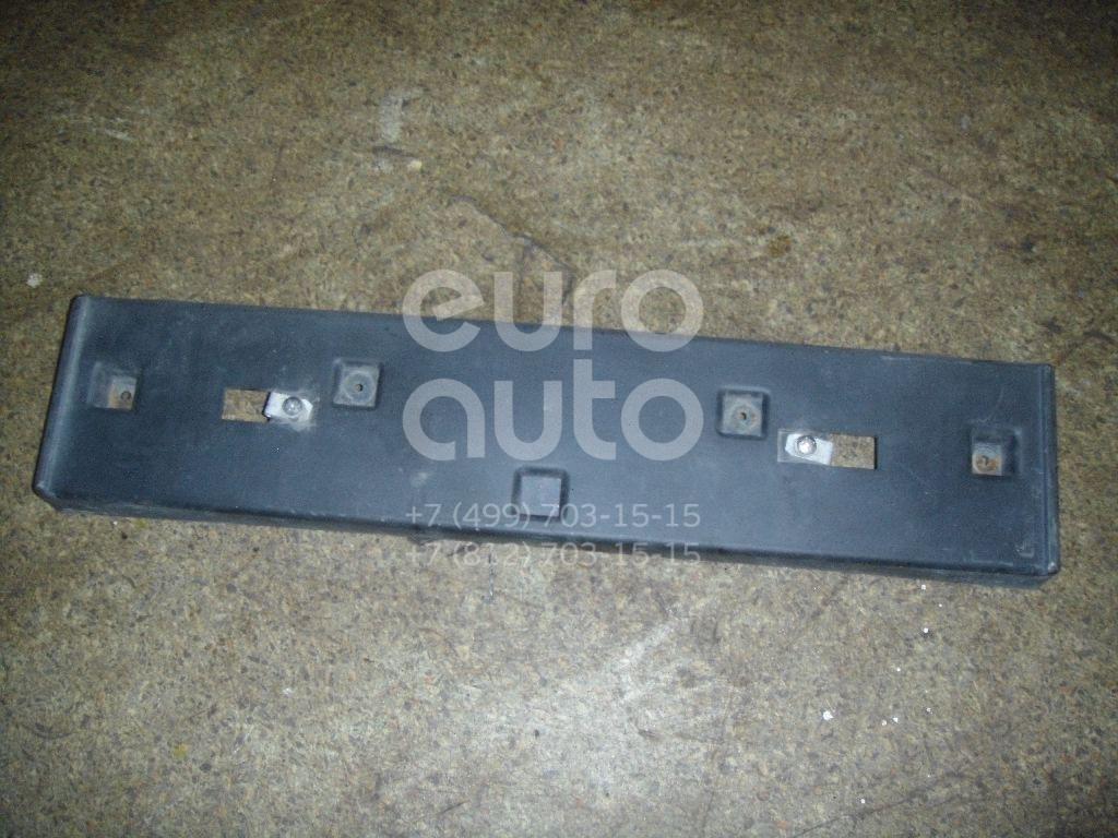 Накладка переднего бампера под номер для Chevrolet Rezzo 2003> - Фото №1