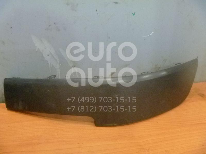 Накладка переднего бампера левая для Renault Megane II 2002-2009 - Фото №1