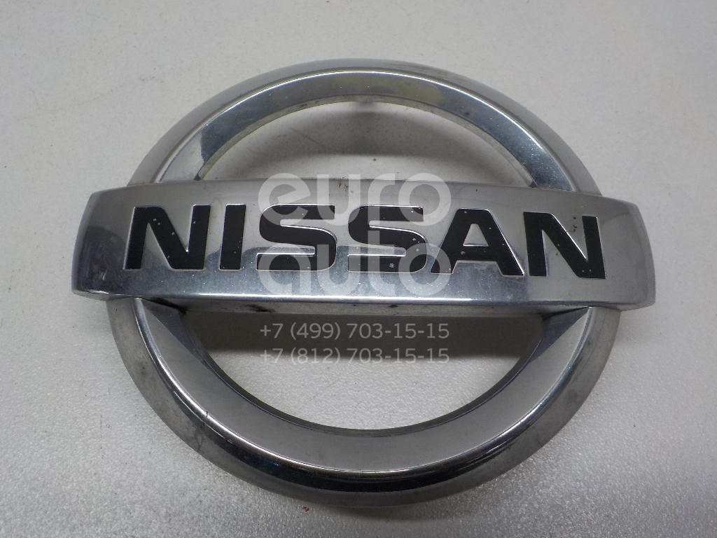 Купить Эмблема Nissan Murano (Z51) 2008-2015; (628901AV0A)