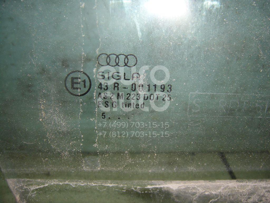 Стекло двери передней правой для Audi A6 [C4] 1994-1997;100 [C4] 1991-1994;Allroad quattro 2000-2005;A6 [C5] 1997-2004 - Фото №1