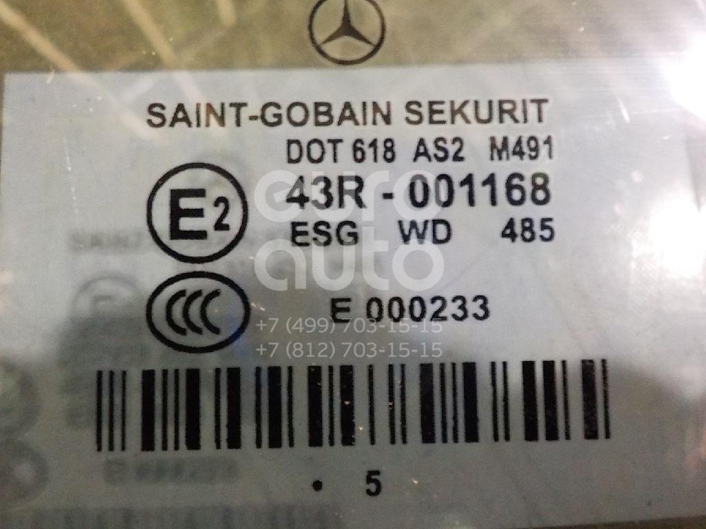 Стекло двери передней правой для Mercedes Benz W219 CLS 2004-2010 - Фото №1