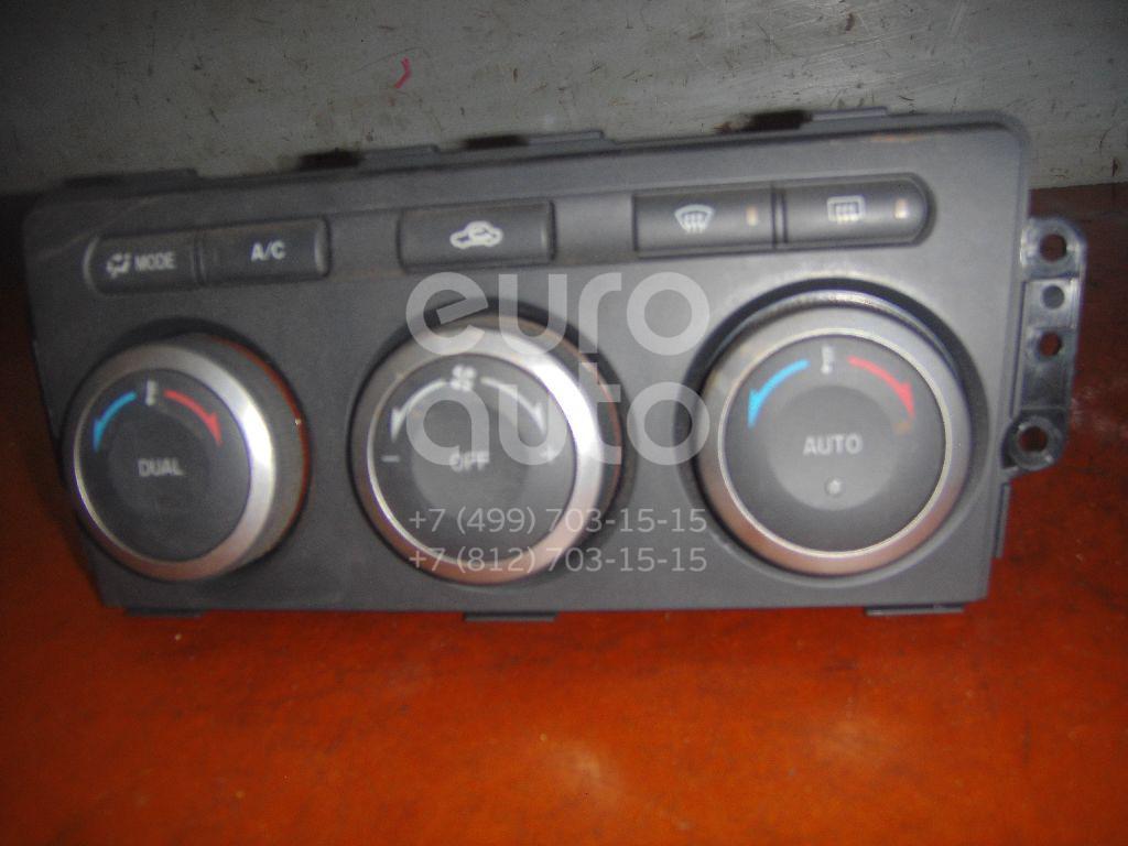 Блок управления климатической установкой для Mazda Mazda 6 (GH) 2007-2012 - Фото №1