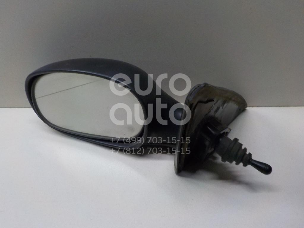 Зеркало левое механическое для Chevrolet Lanos 2004>;Lanos 1997> - Фото №1