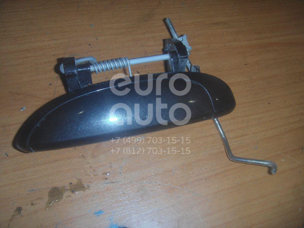 Ручка двери наружная левая для Renault Logan 2005-2014 - Фото №1