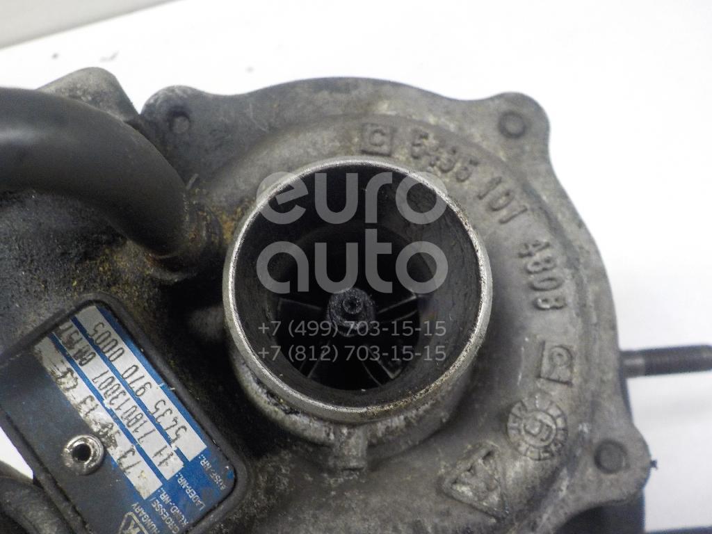 Турбокомпрессор (турбина) для Opel,Fiat Corsa D 2006-2015;Punto III/Grande Punto (199) 2005>;500 2008>;Fiorino 2008> - Фото №1