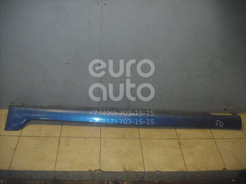 Накладка на порог (наружная) для Honda Accord VII 2003-2007 - Фото №1