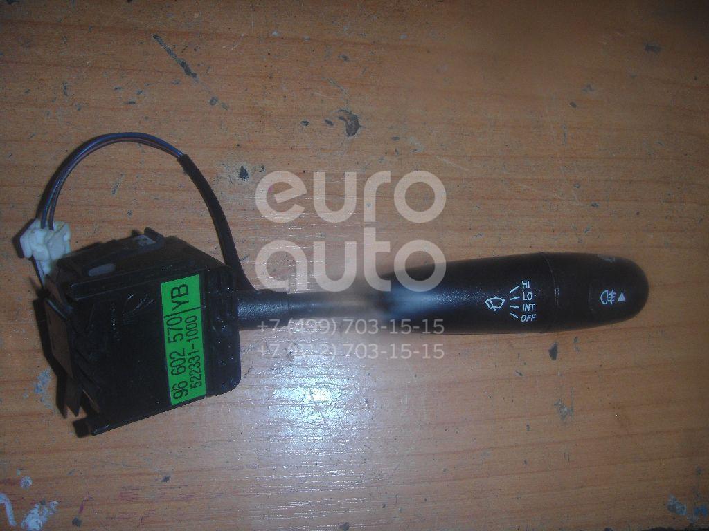 Переключатель стеклоочистителей для Chevrolet,Daewoo Aveo (T250) 2005-2011;Matiz 1998-2015;Aveo (T200) 2003-2008;Spark 2005-2011 - Фото №1
