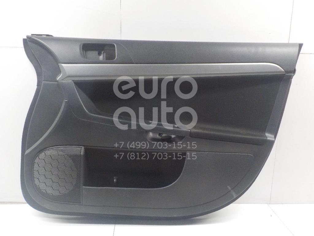 Купить Обшивка двери передней правой Mitsubishi Lancer (CX, CY) 2007-; (7221C090XB)