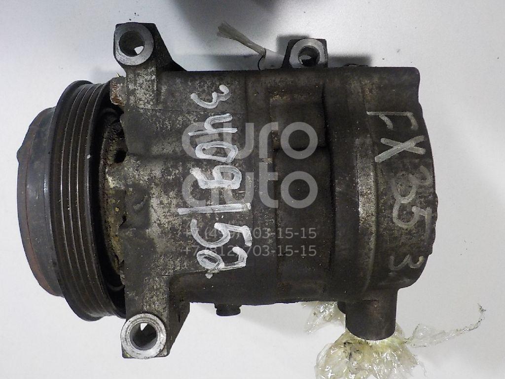 Компрессор системы кондиционирования для Infiniti FX (S50) 2003-2007;G (V35) 2002-2007 - Фото №1