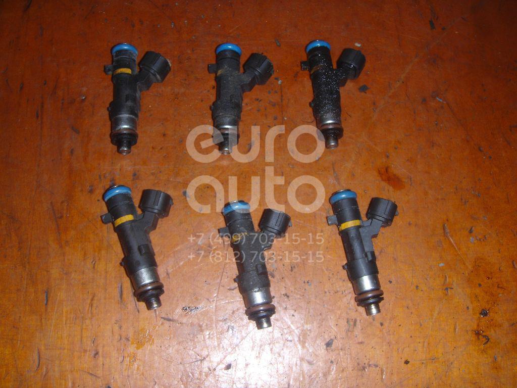 Форсунка инжекторная электрическая для Infiniti,Nissan FX (S50) 2003-2007;Murano (Z50) 2004-2008;Teana J31 2006-2008;G (V35) 2002-2007;M (Y50) 2004-2009 - Фото №1